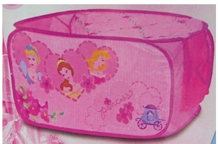 Disney Princess Collapsible Storag Trunk Girls Pink