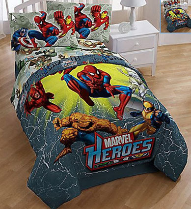 Out of stock Marvel Heroes Twin Comforter