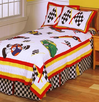 Speedway 2-Piece Twin Bedding Set by Anna Claire
