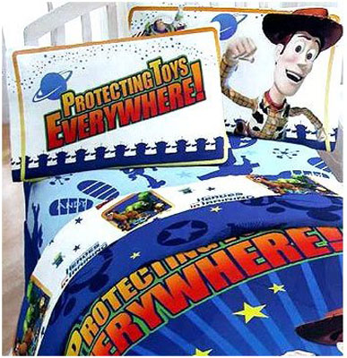 Toy Story Buzz & Woody Twin Sheet Set