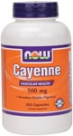 Cayenne 250ct Now Foods (500mg)