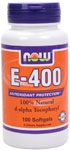E-400 DA 100ct Now Foods
