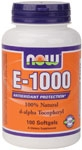 E-1000 by Now Foods 100ct