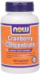 Cranberry Concentrate 100ct Now Foods