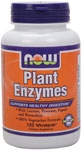 Plant Enzymes 120ct Now Foods