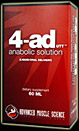 4-AD UTT 60ml Advanced Muscle Science