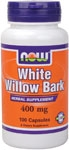White Willow Bark 100ct Now Foods (400mg)