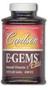 Carlson Labs E-Gems Elite 400 IU 60ct