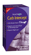 Carb Intercept Phase 2 by Natrol 60ct