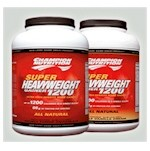 Super Heavyweight Gainer 1200 by  Champion 6.6 lb