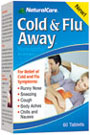 Cold & Flu Away 60ct Natural Care
