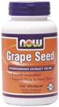 Grape Seed 200ct Now Foods (100mg)