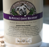 Hi-Potency Joint Recovery 180ct Dancing Paws