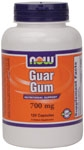 Guar Gum 120ct Now Foods (700mg)