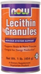 Lecithin Granules 1lb Now Foods