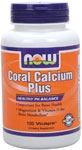 Coral Calcium+Magnesium 100ct Now Foods
