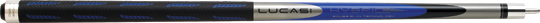 Lucasi Hybrid L-H10 - Blue Pool Cue Stick