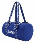 Zeta Phi Beta - Blue Duffle Bag