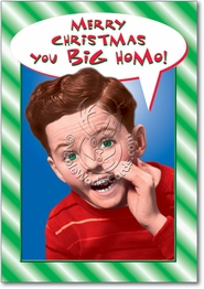 You Big Homo Card
