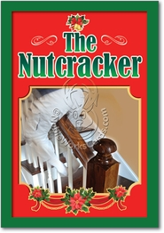Nut Cracker Banister Card
