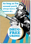 Drug Free Urine Card