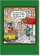 Tip the Doorman Humor Card