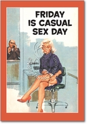 Casual Sex Day Card