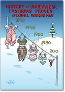 Al Gore Global Warming Card