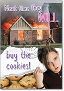 Buy the Cookies Card