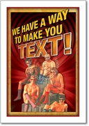 Make You Text Card