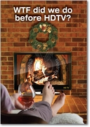 HD Fireplace Card