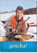 Palin Deer Card