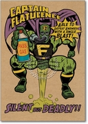 Captain Flatulence Card
