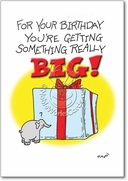 Something Big Card