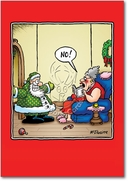 Santa Goes Green Card