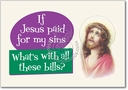 Jesus Paid Card