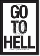 Go to Hell Card