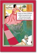 Parents Still Young Card