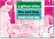 Gifted Child Card