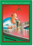 Bill Kissed Beer Card