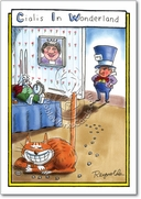 Cialis in Wonderland Card