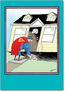Superman House Keys Card