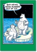 Out of Ice Card