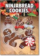 Ninjabread Cookies Card