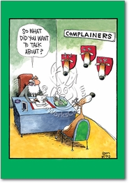 Complainers Card
