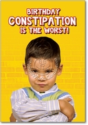 Birthday Constipation Card