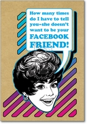 Facebook Friend Card