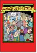 Miracle on 34th Street Card