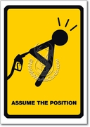 Assume Position Card
