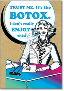Its the Botox Card